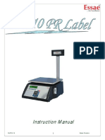 SI-810PR Label Instruction Manual R17