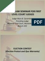 Election Law (Metcs, Mtcs, Mtccs, Mctcs)