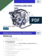 Weiterentwicklung Des Ottomotors