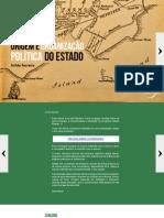 FERREIRA, Arildo - Origem e Organização Política Do Estado