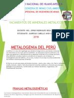 Metalogenia Del Peru
