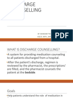 Discharge Counselling