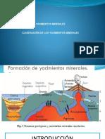 formación de yacimientos minerales