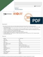 Mitutoyo - Absolute AOS Digital Caliper