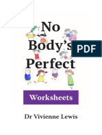 Body Image Booklet for Chn by Dr Vivienne Lewis