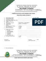 Formulir Daftar Ulang 2017