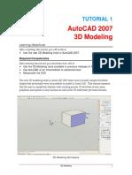 AutoCAD 2007 Tutorial 1.pdf