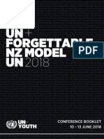 NZMUN 2018 Conference Booklet