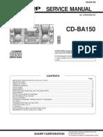 Sharp+CD-BA150+HiFi+system
