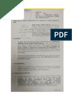 Denuncia Penal de Ursula Letona