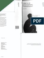 DIAZ HERNANDEZ, C. - Que es el Personlismo Comunitario - Col. Persona 1 - Fundación Mounier, 2002.pdf