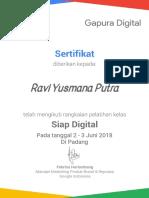 Ravi Yusmana Putra
