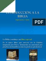 1. Introducción a la Biblia