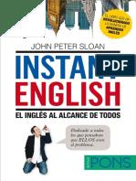 Instant English. El Inglés Al Alcance de Todos - John Peter Sloan