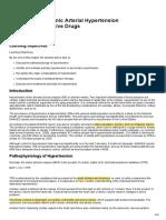 Chapter 13 Systemic Arterial Hypertension and Antihypertensive Drugs (1)