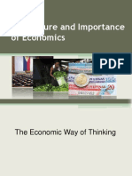 The Nature and Importance of Economics