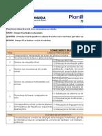 Planilha de Estudos - PF - 2012 - Agente de Polícia