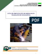 Guia de Prevención en trabajos de Soldadura