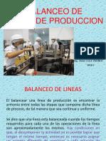 Balanceo de Lineas -2018 -i