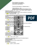 Examen Parcial Introduccion Ing. Mecatronica