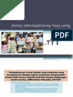 Teori Ilmu Kesejahteraan Sosial