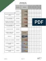 V-656en Tool List