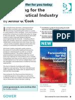 Forecasting Pharma Ind Book Brochure