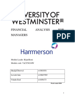 Hammerson's Financial Analysis