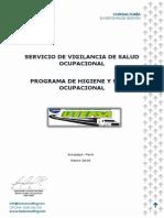 Isos Consulting - Plan Anual de Salud Ocupacional -UTEPSA