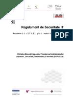 Regulament de Securitate IT Nou-12!09!11