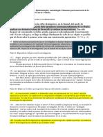 Samaja - Epistemología y metodología - Citas