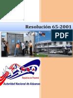 Ley 65-2001