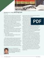 Careers in Food & Drug Law, FDLI Update June-July 2018