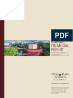 (754) Texas State University 2017 Annual Financial Report