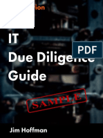 IT Due Diligence Guide Sample Chapter