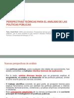 Perspectivas Teóricas Para El Análisis de Las Políticas