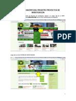 02-Guia Para Inscripcion de Proyectos de Investigacion