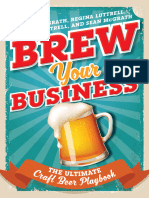 Brew Your Business the Ultimate Craft Beer Playbook