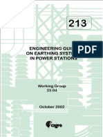 Tb 213 Engineering Guide on Earthing Systems in Power Stations_pei