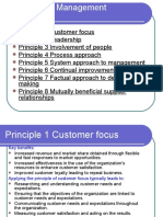 Eight Quality Management Principles
