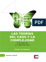 Teorias Del Caos y La Complejidad