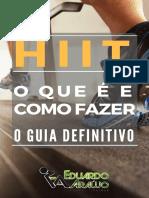 eBook - HIIT - O Que É e Como Fazer - O Guia Definitivo-1.pdf