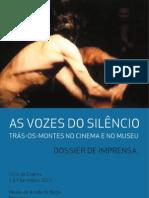 As Vozes Silencio Dossier de Imprensa