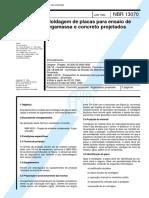 NBR 13070 - Moldagem de placas para ensaio de argamassa e concreto projetados.pdf
