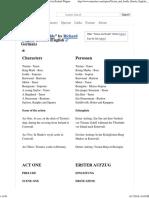 Tristan Und Isolde Libretto (English_German) - Opera by Richard Wagner