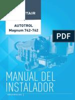 Installer Manual Autotrol Magnum 742-762 Es