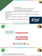 Presentación General de Autonomía Reunion de Consejo Técnico Estatal de Supervisores Mayo