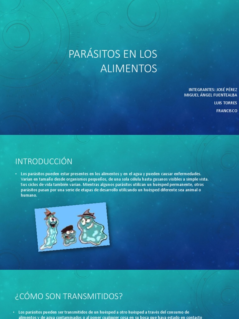 gusanos parásitos de radiación ionizante