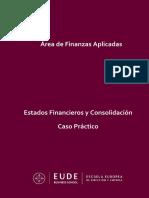 Estados Financieros y Consolidación_Caso