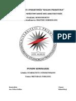Stabiliteti i Strukturave-Metoda e Forcave